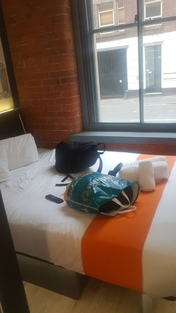easyHotel Manchester City Centre Photo