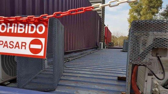 QUO Container Center: camino