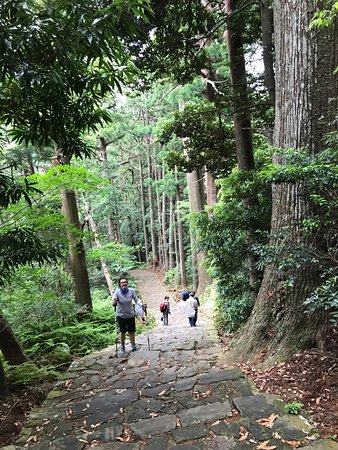 Daimonzaka: A steep path in places
