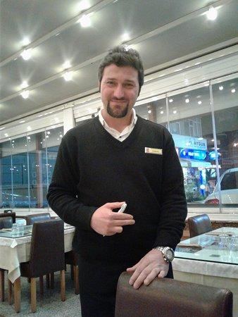 Kircicegi: Our excellent server Huseyin! Thank you!