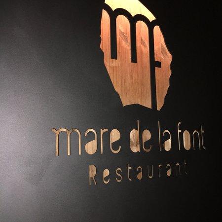Restaurant Mare de la Font ภาพถ่าย