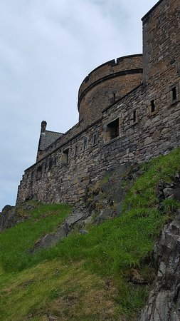爱丁堡城堡照片