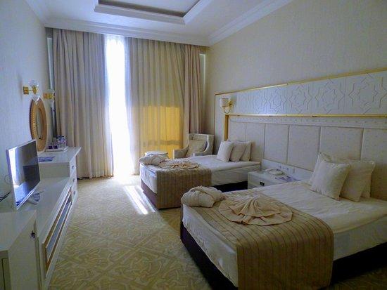Turkmenbashi, Turkmenistan: Bedroom