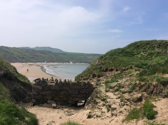 Porthor Beach (Whistling Sands): Favourite place
