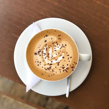 Museo Del Cafe : Delicious latte