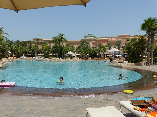Atlantis, The Palm: Pool Seite vom Atlantis