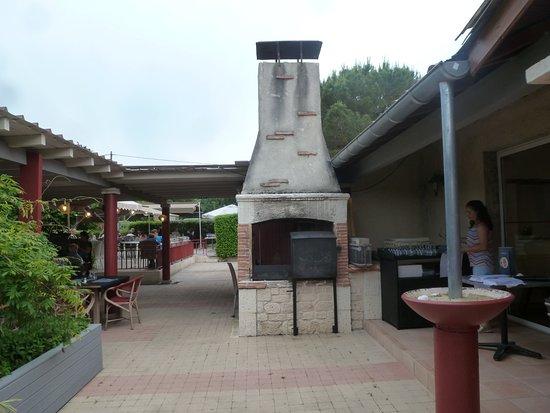 Villereal, France: le décor de l'ancien site est resté...
