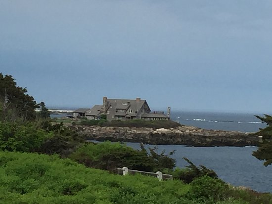 Cape Arundel Inn & Resort: View from the porch, the Bush compound