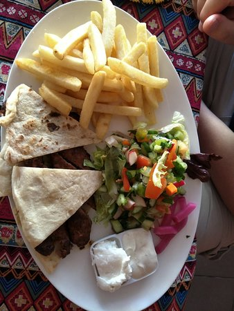 El Attar Middle Eastern Grill : Shish. My husband really enjoyed this.