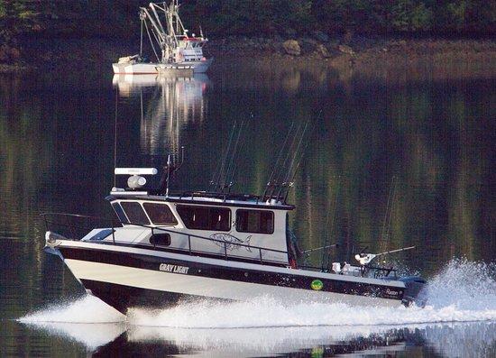 Gray Light Seward Alaska: Our boat is the best! 2017 31' Don Radon custom fishing machine. Top speed...54 MPH!