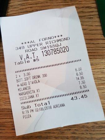 Al Forno: Proof of 'Visit'!