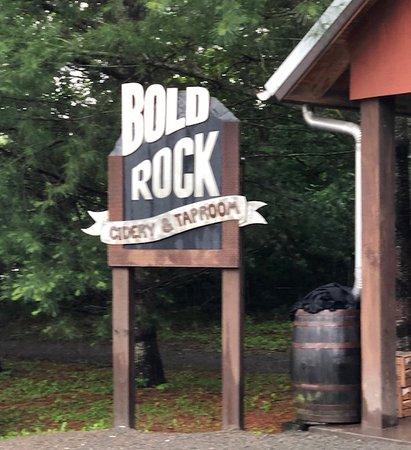 Bold Rock Hard Cider: Entrance to Cider