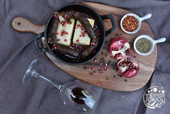 Jonjoli: Spicy Megrelian Sausage with Organ Meat