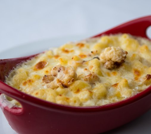 Spoon Restaurant : JC's Killer Cauliflower Mac'n'Cheese...so addicting