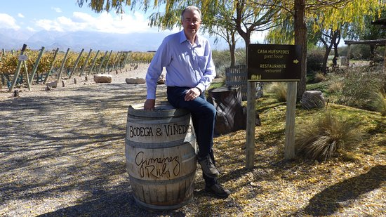 Mendoza Wine Camp: Gimenez Riili
