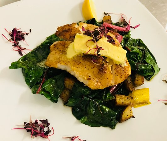 Fish: One of our many delicious dinner specials!