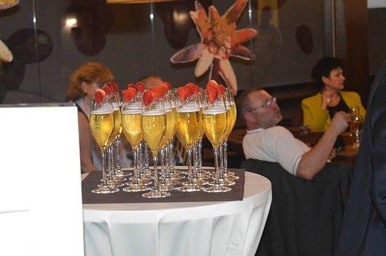 Demänovská Dolina, Slovensko: Welcome drinks