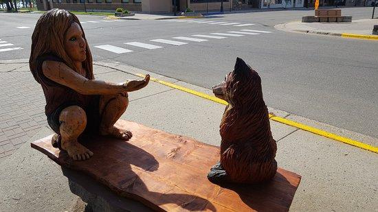 Sculpture Walk: Tempting The Fox