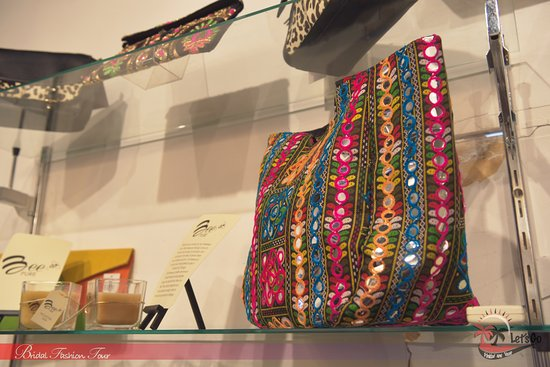 Point Fortin, Trinidad: Designer handbag at CLD boutique