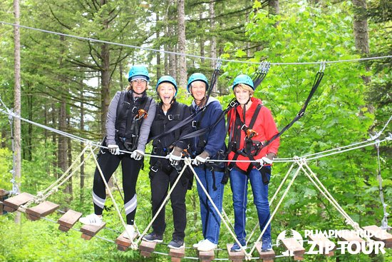 North Plains, OR: Zip Lining at Pumpkin Ridge Zip Tours