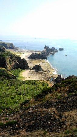 Green Island Little Great Wall: 柚子湖 海蝕洞