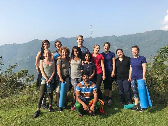 Atmashree Yoga Retreat: Sunrise Hatha Yoga