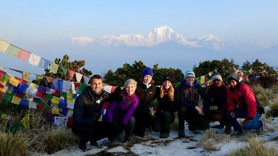 Atmashree Yoga Retreat: poon hill
