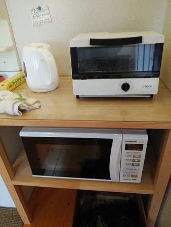 Guest House Darumaya: 電子レンジ・IHコンロ・オーブントースター・電子ケトル