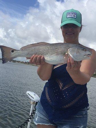Hot Fun Fishing Charters: Wow nice Redfish caught on the Hot Fun