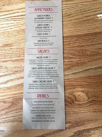 51st State Brewing Co: Appetizers, salads, drinks