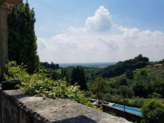 Villa Cipriani Hotel: Villa Cipriani garden view