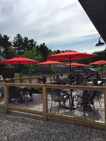 51st State Brewing Co: Patio area