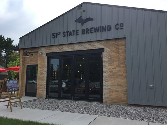 51st State Brewing Co: Harding Street entrance