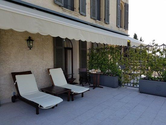Villa Cipriani Hotel: Grand Deluxe suite terrace