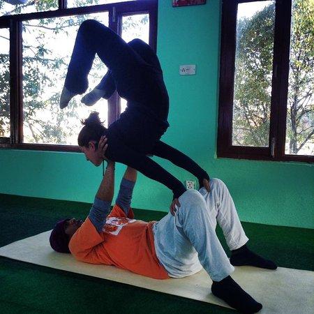 Atmashree Yoga Retreat: Hatha yoga