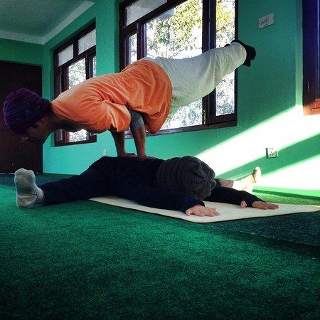 Atmashree Yoga Retreat: meditation