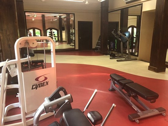 Sandals Royal Caribbean Resort and Private Island : fitness area