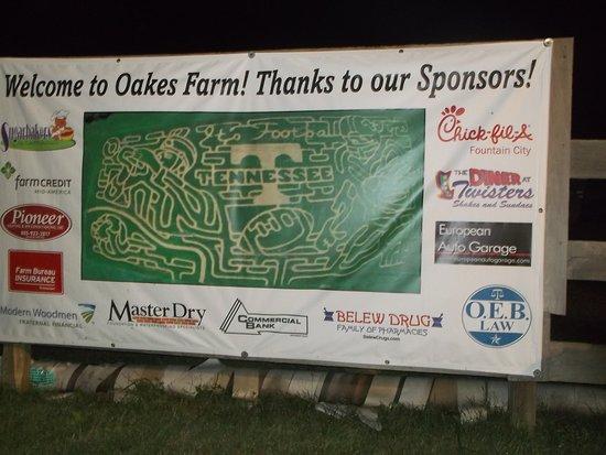 Oakes Farm Corn Maze