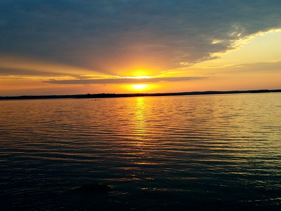 Kabetogama, MN: View from the Moose cabin