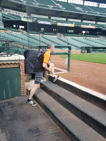 Oriole Park at Camden Yards : Pretend to be Earl Weaver!