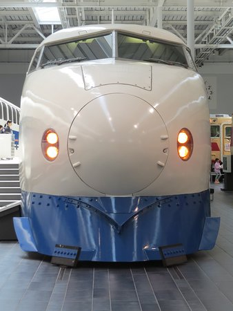 SCMAGLEV and Railway Park: Old train