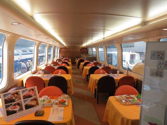 SCMAGLEV and Railway Park: Restaurant train