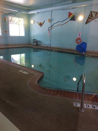 Quality Inn Downtown Convention Center: piscina cerrada