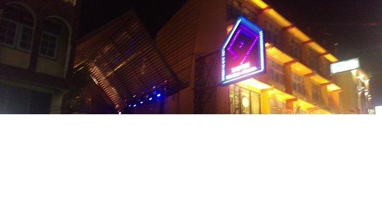 The One At Khaosan: Entrance at Night