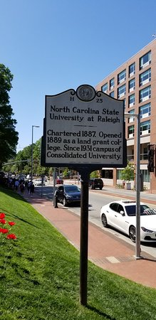 North Carolina State University: Roadside Marker