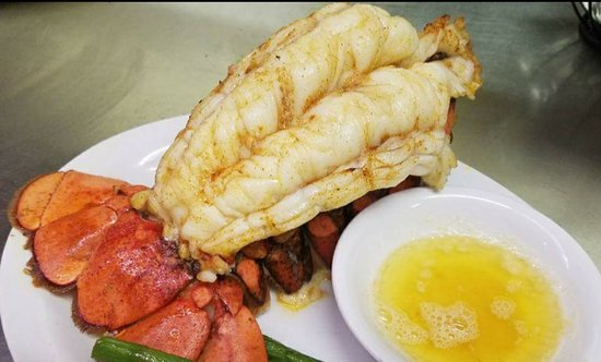 Rocky Mount, VA: Warm water Lobster tail 16oz. On special when available