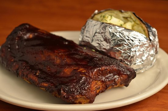 Rocky Mount, VA: Baby Back Ribs. We Cut them and grill them before serving so everyone can enjoy