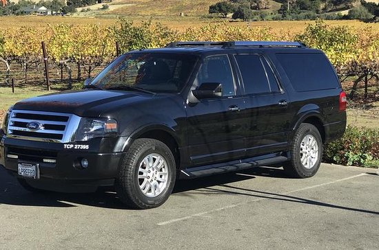 SUV Airport Transfer from SFO to Napa (one way)