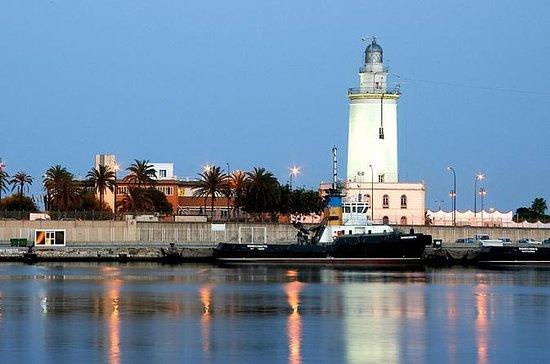 Málaga looking at the sea