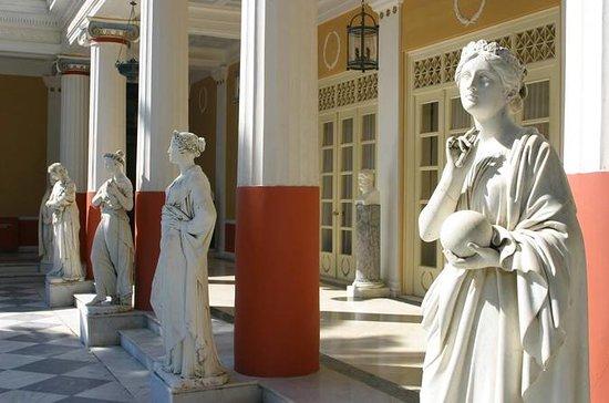 Achillion Palace & Old Corfu Town...